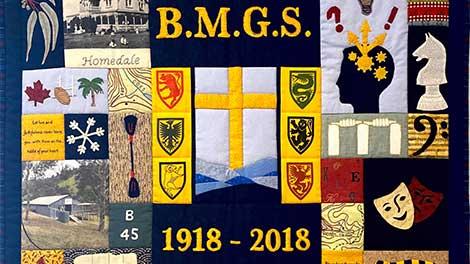 2018 - Centenary Quilt | Blue Mountains Grammar School, Sydney