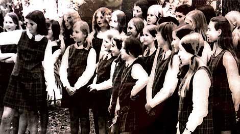 1976 - First Year Girls Enrolled | Blue Mountains Grammar School, Sydney